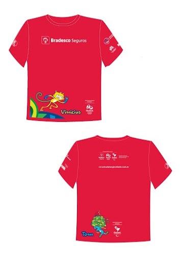 Bradesco Seguros com os mascotes Tom e Vinícius - Jogos Rio 2016