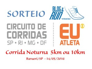 Corrida Noturna 5km ou 10km Barueri