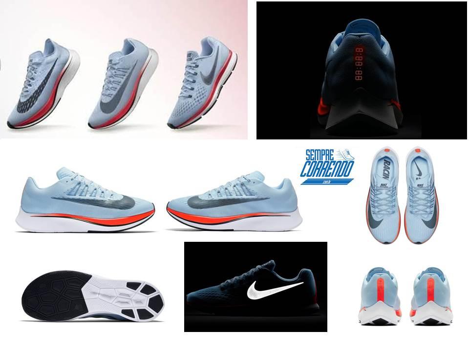 cf4f5a1dbe Zoom Pack traz o clássico Nike Zoom Pegasus 34 atualizado ao lado de dois  novos modelos Vaporfly 4% e Zoom Fly.