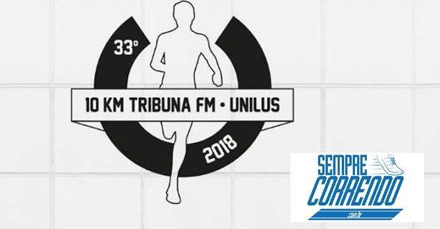 Inscrições abertas TRIBUNA 10 kms 2018