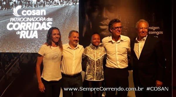 COSAN e Adriana Aparecida Silva – Maratonista