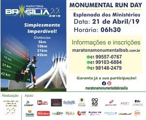 Maratona Monumental Brasília 2019