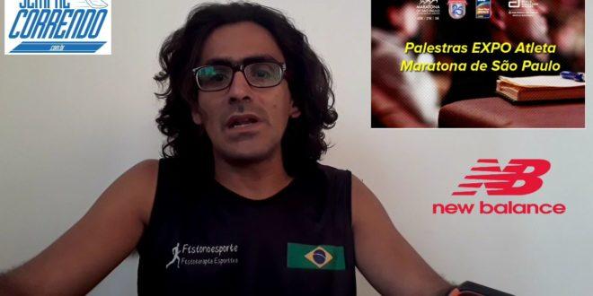 Palestras na EXPO Atleta – 25ª Maratona Internacional de São Paulo