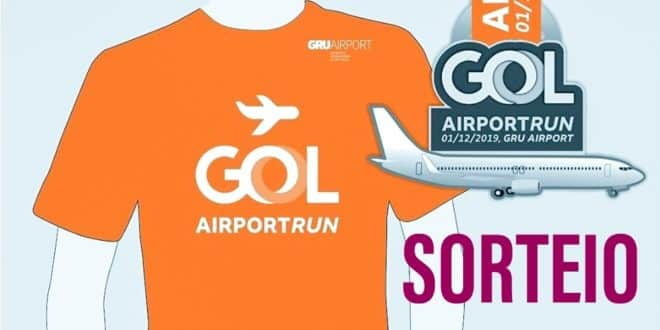 GOL Airport Run – SORTEIO