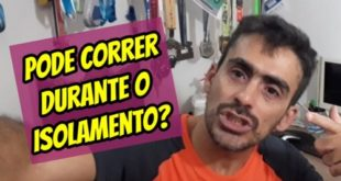 Pode correr no Isolamento Social? Doping Social ou virtual?