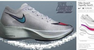 NOVA COR DO NIKE ZOOMX VAPORFLY NEXT %