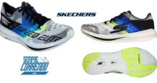 SKECHERS com placa de carbono – GORUN SPEED ELITE HYPER
